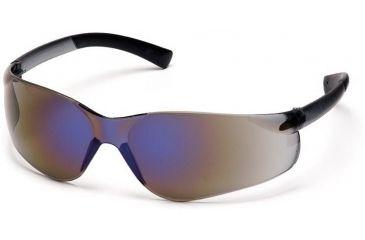 Pyramex Mini Ztek Safety Glasses - Blue Mirror Lens, Blue Mirror Frame S2575SN