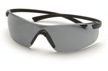 Pyramex Montego Safety Glasses - Gray Lens, Black Frame SB5320S