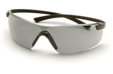 Pyramex Montego Safety Glasses - Silver Mirror Lens, Black Frame SB5370S