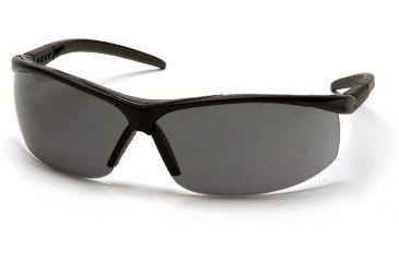 Pyramex Pacifica Safety Glasses - Gray Lens, Black Frame SB3420S