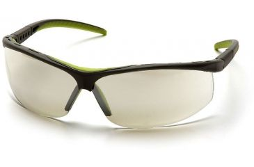Pyramex Pacifica Safety Glasses - Indoor/Outdoor Mirror Lens, Slate Gray Frame SSG3480S
