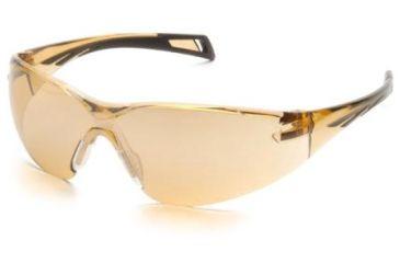 Pyramex PMXSlim Safety Glasses, Matte Black Frame & Bronze Lens SB7138S