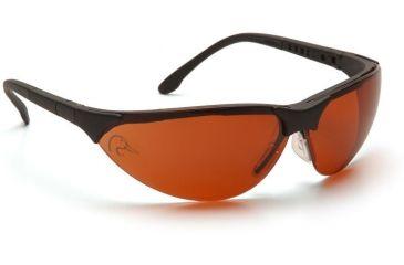 Pyramex Rendezvous Ducks Unlimited Shooting Glasses - Sun Block Bronze Lens, Black Frame DUSB2835ST