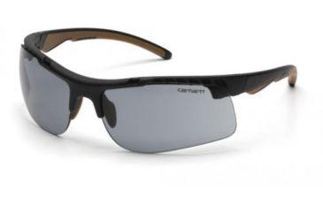 Pyramex Rockwood Safety Glasses, Gray Anti-fog Lens w/ Black Frame CHB720DTCS