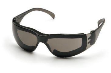 Pyramex Intruder Safety Glasses Pack of 12, Gray Frame, Gray Anti-Fog Lens S4120STFP
