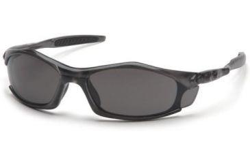 Pyramex Solara Safety Glasses - Gray Lens, Trans Gray Frame STG4320D