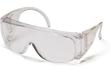 Pyramex Solo Safety Eyewear - Clear Lens, Clear Frame S510S