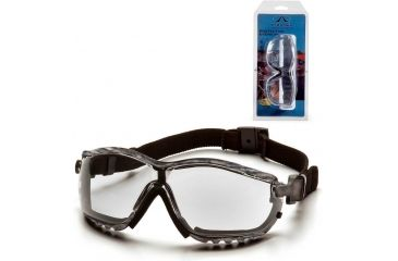 Pyramex V2G Safety Glasses - Clear Anti-fog Lens, Real Tree HW Frame GC1810ST5