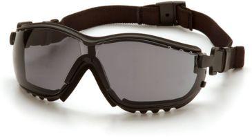 Pyramex V2G Safety Glasses - Gray Anti-Fog Lens, Black Frame GB1820ST