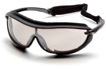 Pyramex XS3 Plus Safety Glasses - Indoor/Outdoor Mirror Anti-Fog Lens, Black Frame SB4680STP