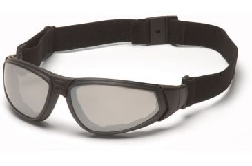 Pyramex XSG Safety Glasses - Indoor/Outdoor Anti-Fog Lens, Black Frame GB4080ST