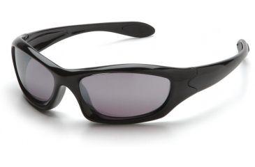 Pyramex Zone 3 Safety Eyewear - Silver Mirror Lens, Black Frame SB5270D