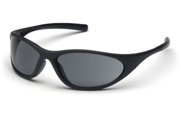 Pyramex Zone II Safety Glasses - Gray Lens, Matte Black Frame SB3320E
