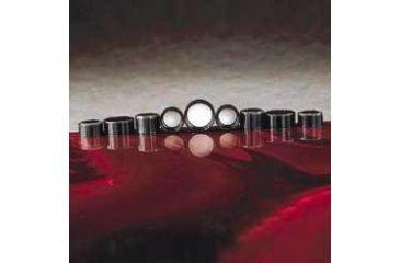 Qorpak Black Phenolic Screw Caps, Pulp/Vinyl Liner, Qorpak 5019/12