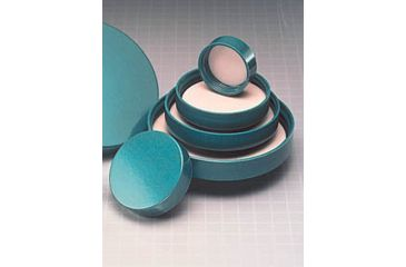 Qorpak Green Thermoset Screw Caps, Fluoropolymer Resin Liner, Qorpak 5218/100