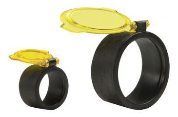 Quake Bushwhacker Optic Covers Amber See-Thru Size 5 12252-4
