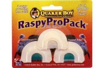 Quaker Boy Raspy Pro Pack  Game Calls 11314