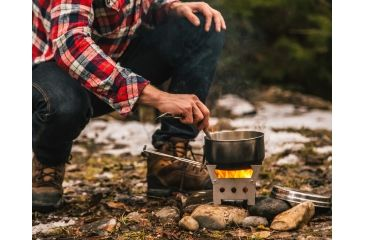 3-QuickStove Emergency and Camp Cook Stove Kit