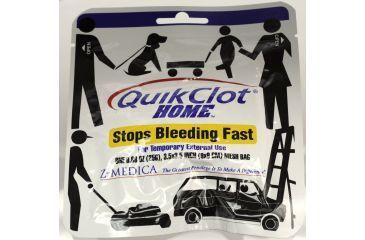 QuikClot Home First Aid Hemostatic Agent 25g Sponge Z-Medica