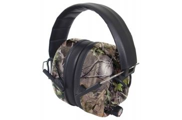 Radians 430-EHP Electronic Earmuff With Black Padded Headband Vista Camouflage Earcups