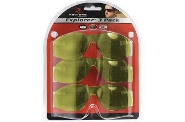 3-Radians Explorer Shooting Glasses - 3 Pack