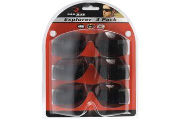 2-Radians Explorer Shooting Glasses - 3 Pack