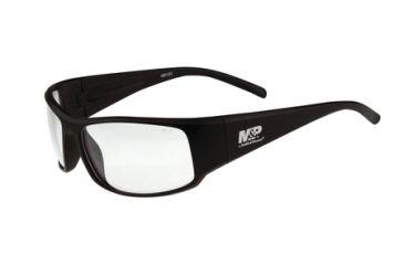 Radians M&P MP101 Shooting Glasses Clear Lens Black Full Frame