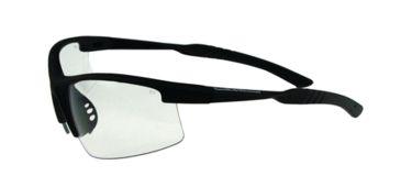 Radians S&W SW104 Performance Eyewear Clear Lens Black Half-Frame