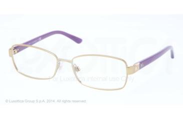 Ralph Lauren DECO EVOLUTION RL5079 Progressive Prescription Eyeglasses 9169-52 - Matte Pale Gold Frame