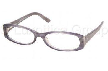 Ralph Lauren RL 6019 Eyeglasses Styles Gray Striped Frame w/Non-Rx 51 mm Diameter Lenses, 5132-5116