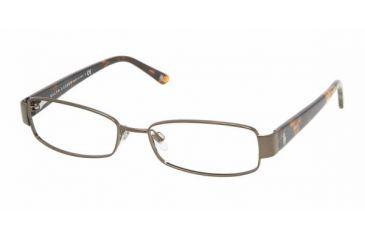 Ralph Lauren RL 5064 Eyeglasses w/ Brown Frame and Non-Rx 49 mm Diameter Lenses, 9147-4916