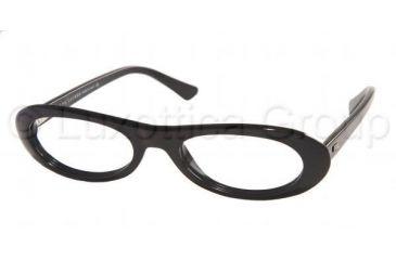 Ralph Lauren RL 6010 Eyeglasses Styles Black Frame w/Non-Rx 52 mm Diameter Lenses, 5001-5219, Ralf Lauren RL 6010 Eyeglasses Styles Black Frame w/Non-Rx 52 mm Diameter Lenses
