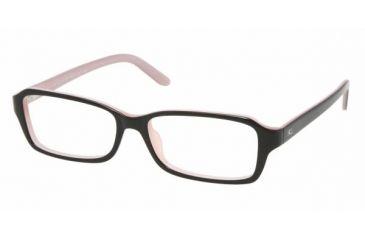 Ralph Lauren RL 6047 Eyeglasses Styles - Black-Pink Frame w/Non-Rx 54 mm Diameter Lenses, 5224-5415