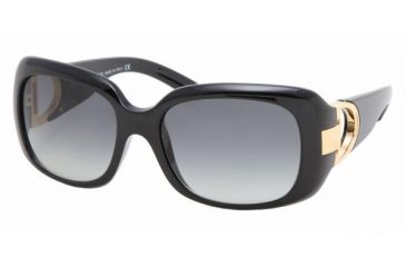 Ralph Lauren RL 8044 Sunglasses Styles Black Frame / Gray Gradient Lenses, 50018G-5517, Ralf Lauren RL 8044 Sunglasses Styles Black Frame / Gray Gradient Lenses