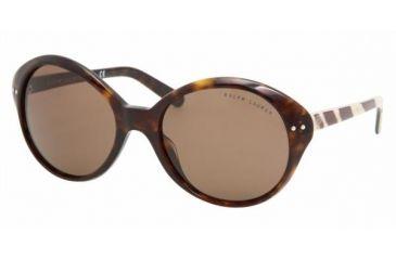 Ralph Lauren RL 8069 Sunglasses Styles - Dark Havana Brown Frame, 500373-5620