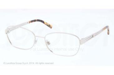 Ralph Lauren RL5080 Eyeglass Frames 9001-53 - Shiny Silver Frame