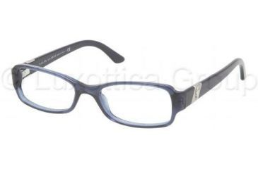 Ralph Lauren RL6075 Bifocal Prescription Eyeglasses 5276-5016 - Blue / Transparent Frame