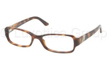 Ralph Lauren RL6075 Single Vision Prescription Eyeglasses 5303-5016 - Havana Frame