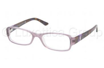 Ralph Lauren RL6075 Bifocal Prescription Eyeglasses 5306-5016 - Top Lilac/Lilac Frame, Demo Lens Lenses