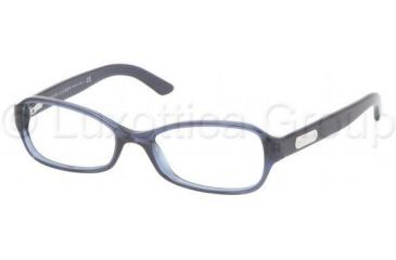 Ralph Lauren RL6082 Eyeglass Frames 5276-5016 - Blue Sea Transparent Frame