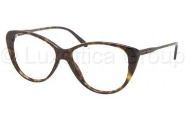 Ralph Lauren RL6083 Single Vision Prescription Eyeglasses 5003-5114 - Dark Havana Frame