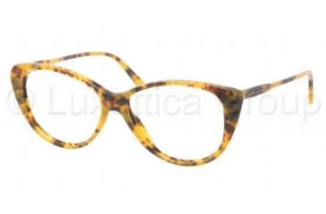 Ralph Lauren RL6083 Single Vision Prescription Eyeglasses 5332-5114 - Dark Steel Frame