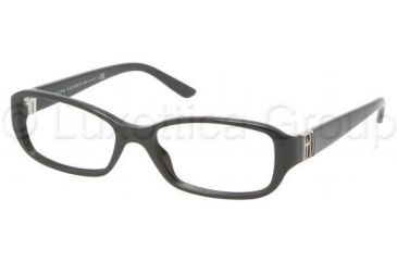 Ralph Lauren RL6085 Single Vision Prescription Eyeglasses 5001-5216 - Black Frame