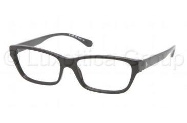 Ralph Lauren RL6092 Eyeglass Frames 5359-5215 - Black Frame