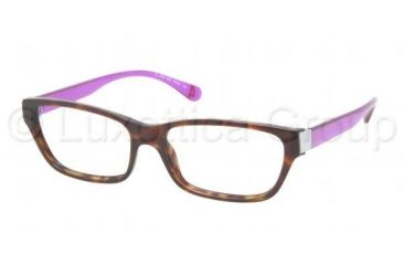 Ralph Lauren RL6092 Eyeglass Frames 5362-5215 - Dark Havana Frame