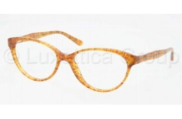 Ralph Lauren RL6093 Single Vision Prescription Eyeglasses 5354-5216 - Vintage Tortoise Frame