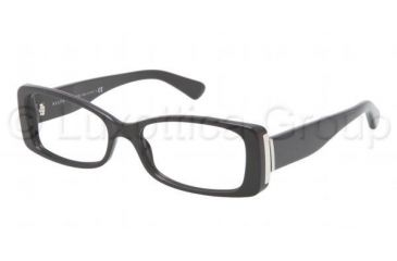 Ralph Lauren RL6096 Single Vision Prescription Eyeglasses 5001-5316 - Black Frame