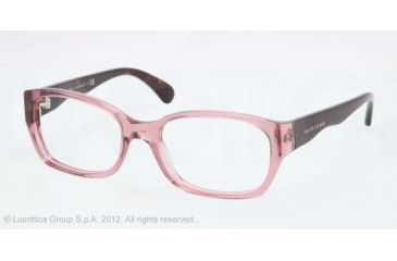 Ralph Lauren RL6098 Single Vision Prescription Eyeglasses 5220-51 - Old Pink Frame, Demo Lens Lenses