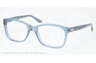Ralph Lauren RL6102 Progressive Prescription Eyeglasses 5365-51 - Denim Blue Frame, Demo Lens Lenses