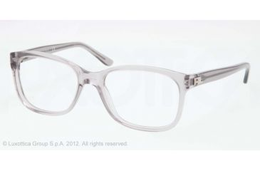Ralph Lauren RL6102 Progressive Prescription Eyeglasses 5413-51 - Trasparent Grey Frame, Demo Lens Lenses